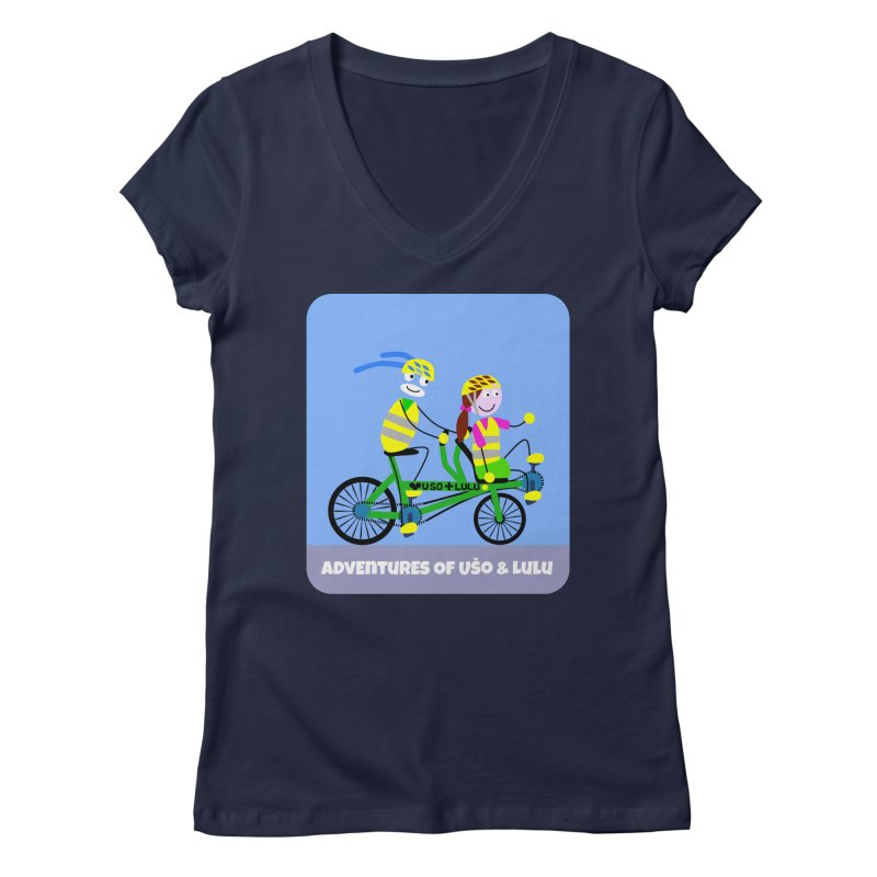 Free Family Workout Women's Regular V-Neck by usomic's Artist Shop