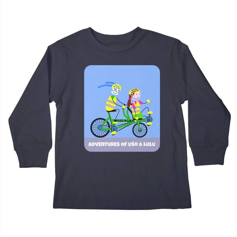 Free Family Workout Kids Longsleeve T-Shirt by usomic's Artist Shop