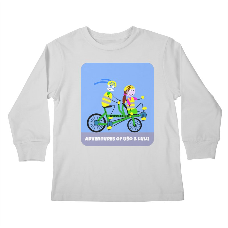 Free Family Workout Kids Longsleeve T-Shirt by usomic's Artist Shop