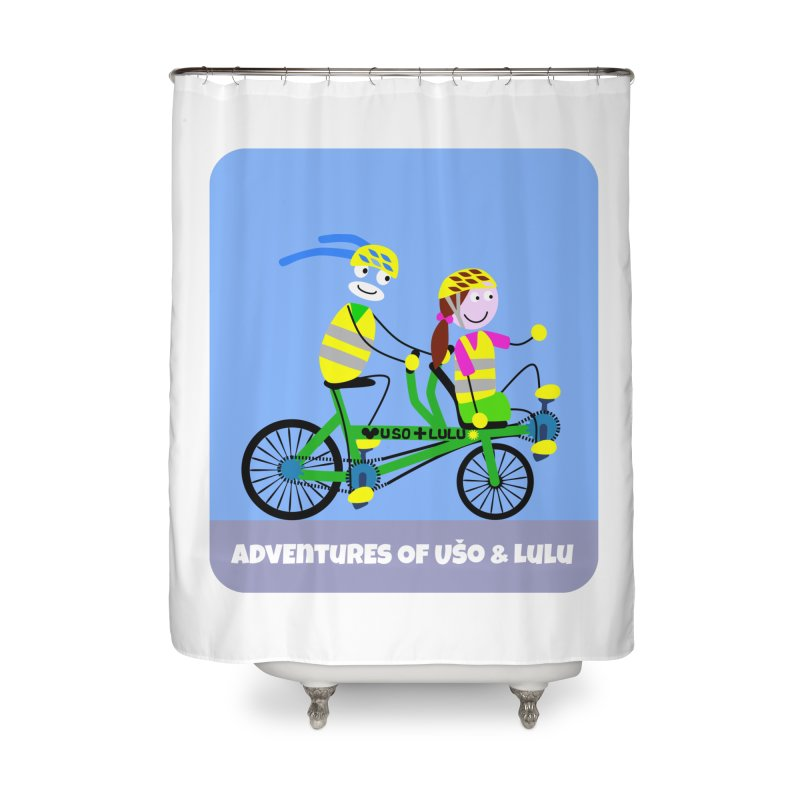 Free Family Workout Home Shower Curtain by usomic's Artist Shop