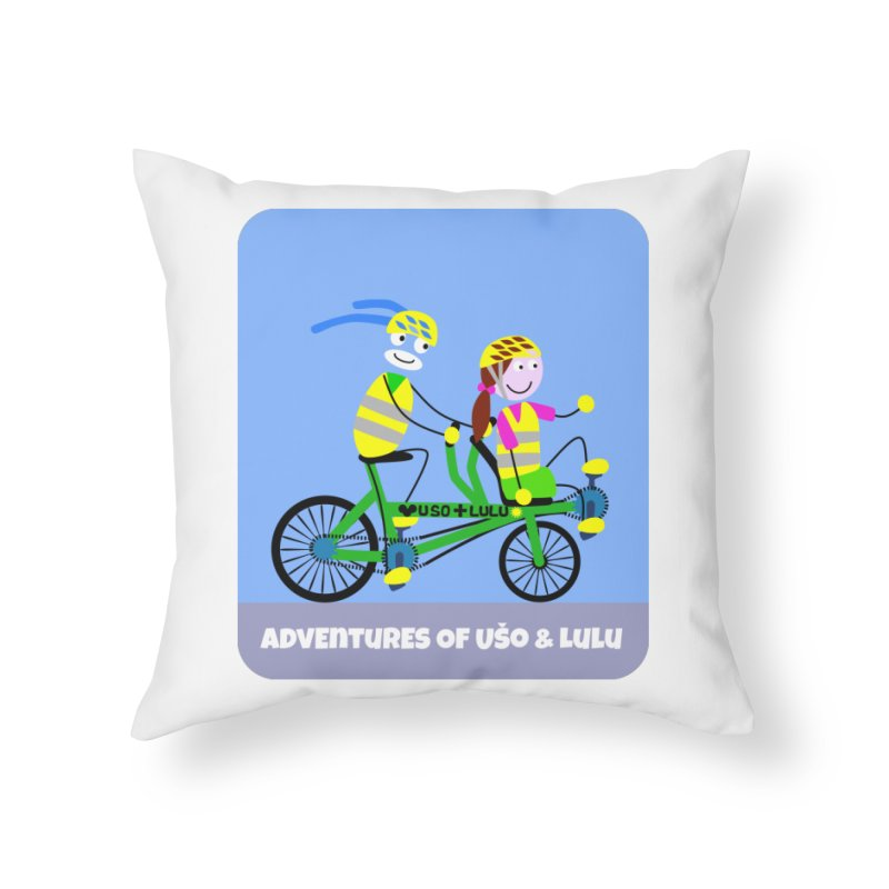 Free Family Workout Home Throw Pillow by usomic's Artist Shop
