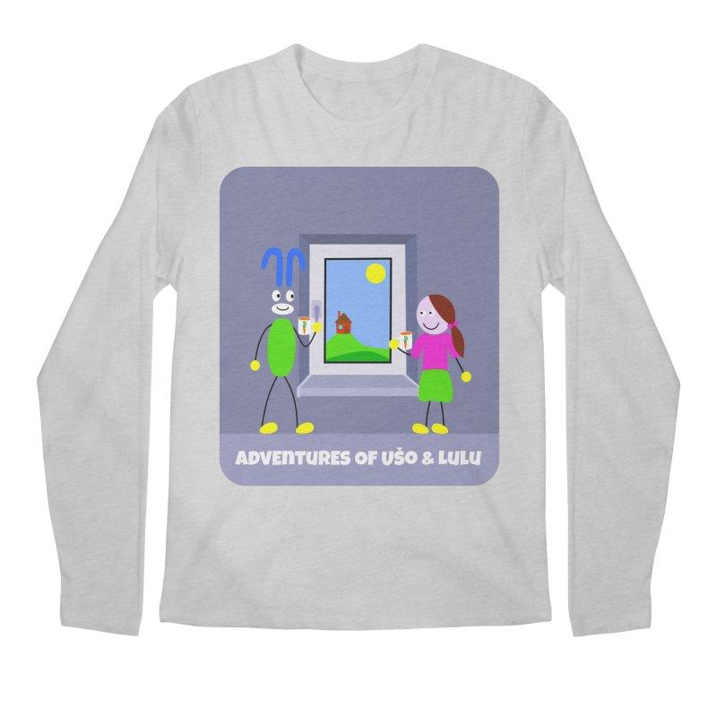 Bright Future Men's Regular Longsleeve T-Shirt by usomic's Artist Shop