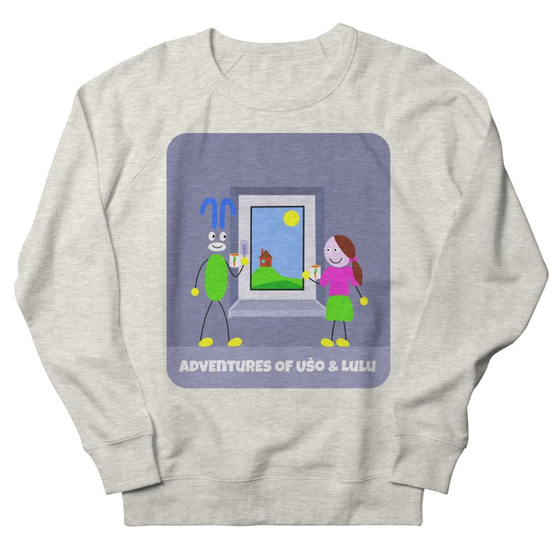 Bright Future Men's French Terry Sweatshirt by usomic's Artist Shop