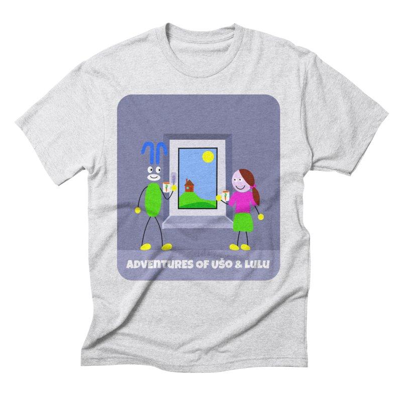 Bright Future Men's Triblend T-Shirt by usomic's Artist Shop