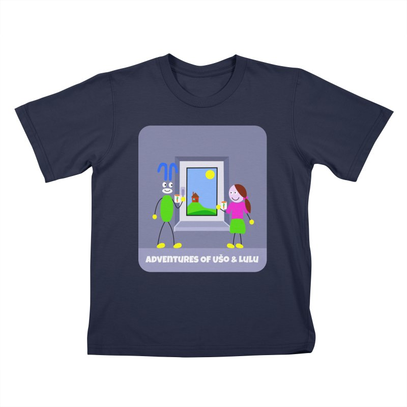 Bright Future Kids T-Shirt by usomic's Artist Shop