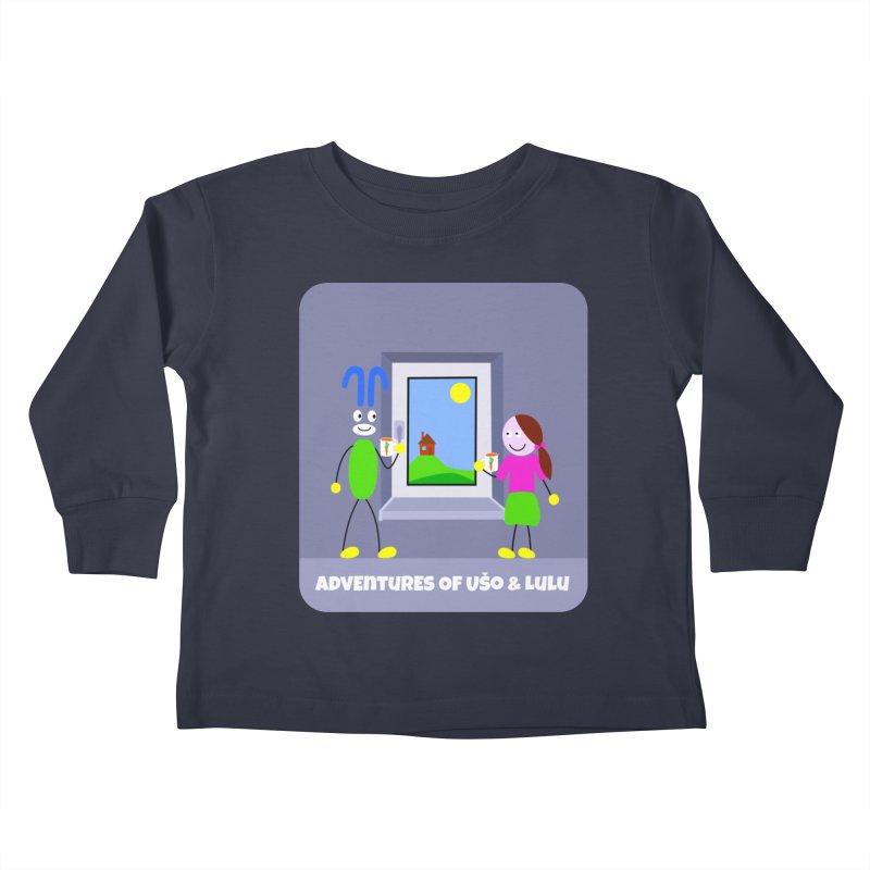 Bright Future Kids Toddler Longsleeve T-Shirt by usomic's Artist Shop