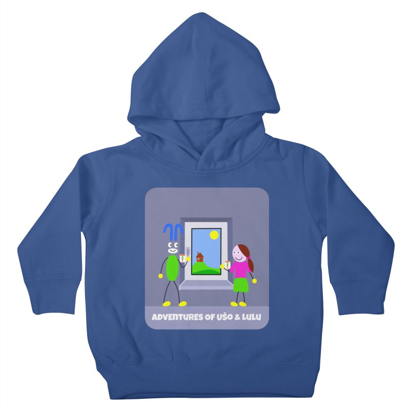 Bright Future Kids Toddler Pullover Hoody by usomic's Artist Shop