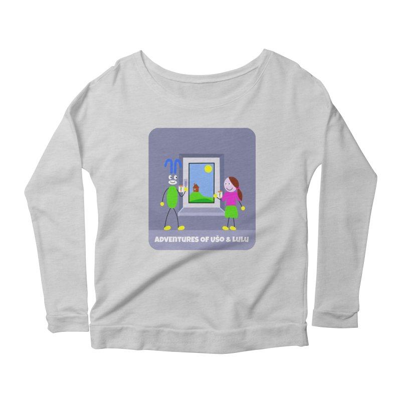 Bright Future Women's Scoop Neck Longsleeve T-Shirt by usomic's Artist Shop