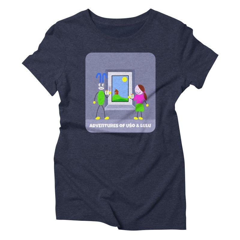 Bright Future Women's Triblend T-Shirt by usomic's Artist Shop