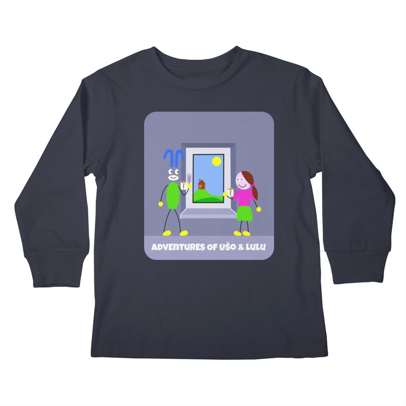 Bright Future Kids Longsleeve T-Shirt by usomic's Artist Shop