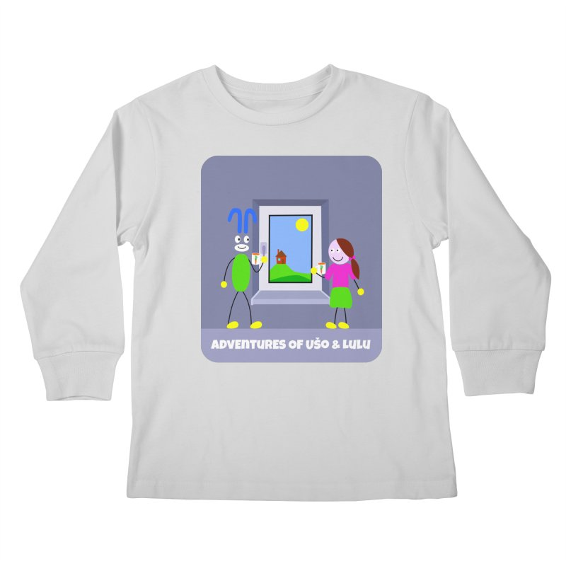 Bright Future Kids Longsleeve T-Shirt by usomic's Artist Shop