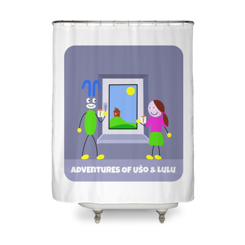 Bright Future Home Shower Curtain by usomic's Artist Shop
