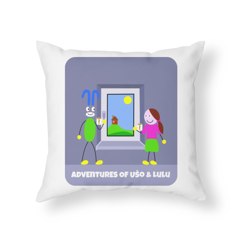 Bright Future Home Throw Pillow by usomic's Artist Shop