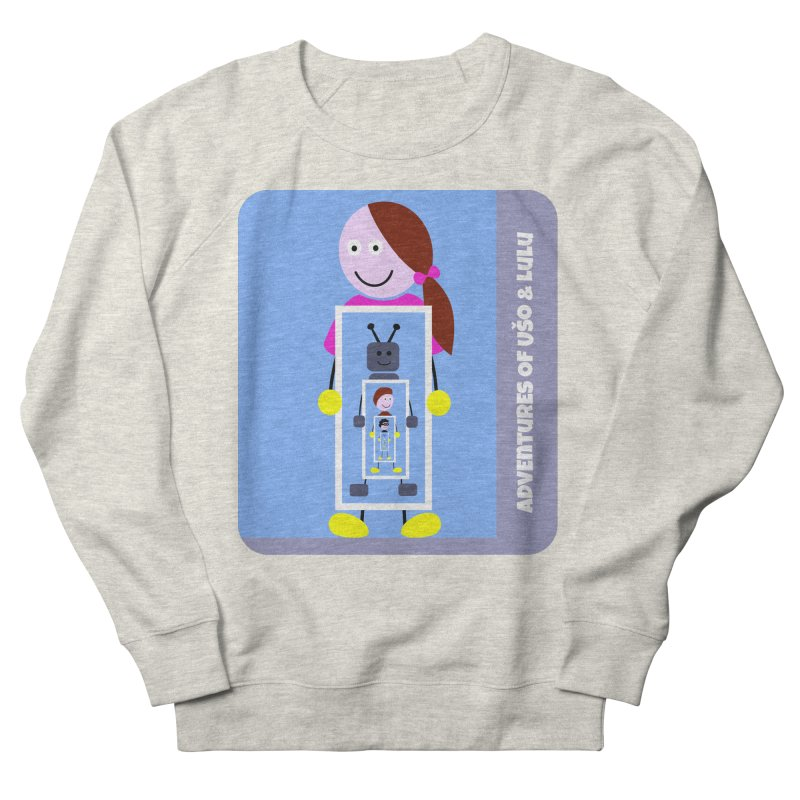 Recursion Men's French Terry Sweatshirt by usomic's Artist Shop