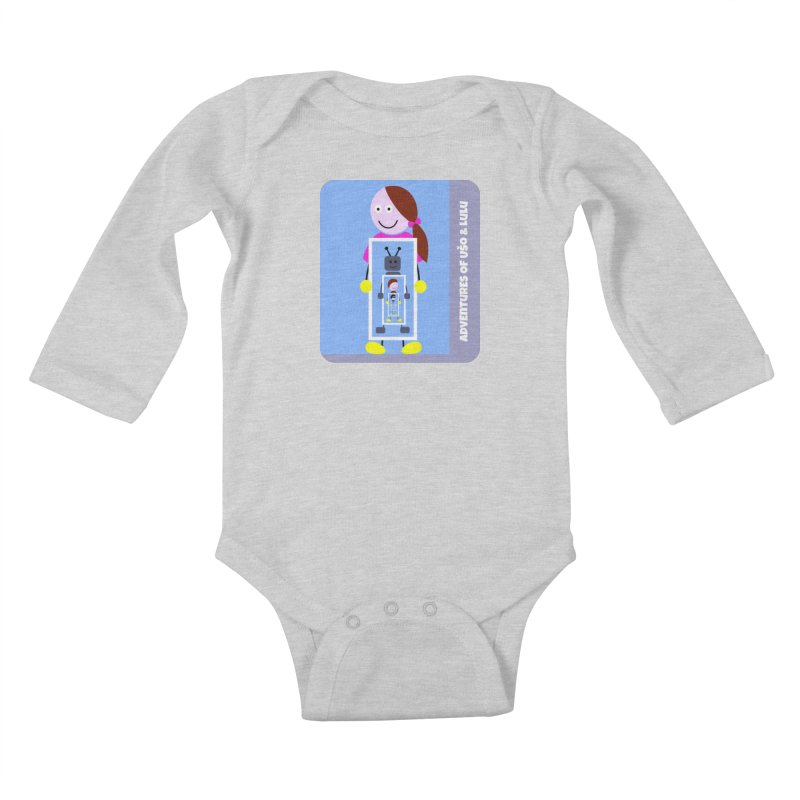 Recursion Kids Baby Longsleeve Bodysuit by usomic's Artist Shop