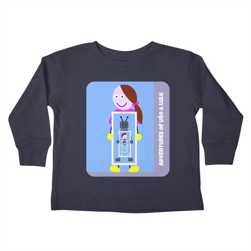 Recursion Kids Toddler Longsleeve T-Shirt by usomic's Artist Shop