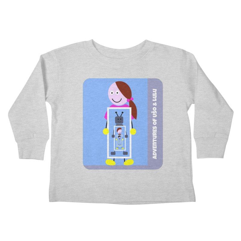 Recursion Kids Toddler Longsleeve T-Shirt by usomic's Artist Shop
