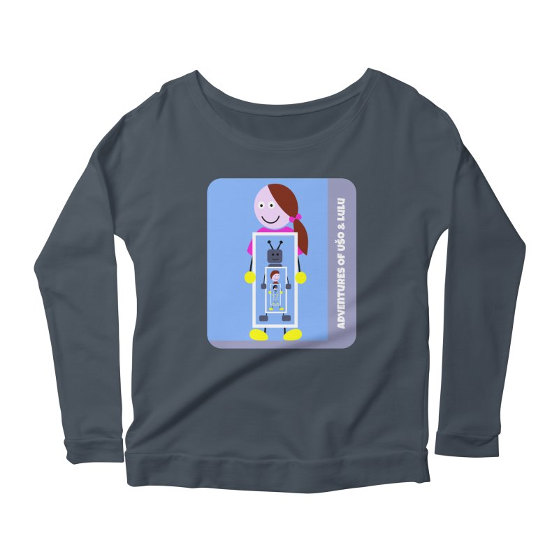 Recursion Women's Longsleeve Scoopneck  by usomic's Artist Shop