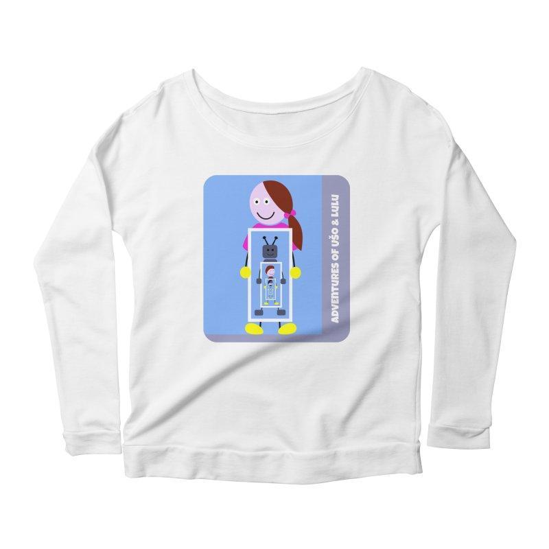Recursion Women's Scoop Neck Longsleeve T-Shirt by usomic's Artist Shop
