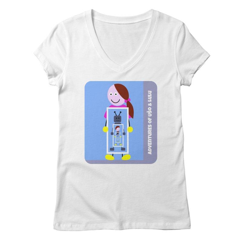Recursion Women's Regular V-Neck by usomic's Artist Shop