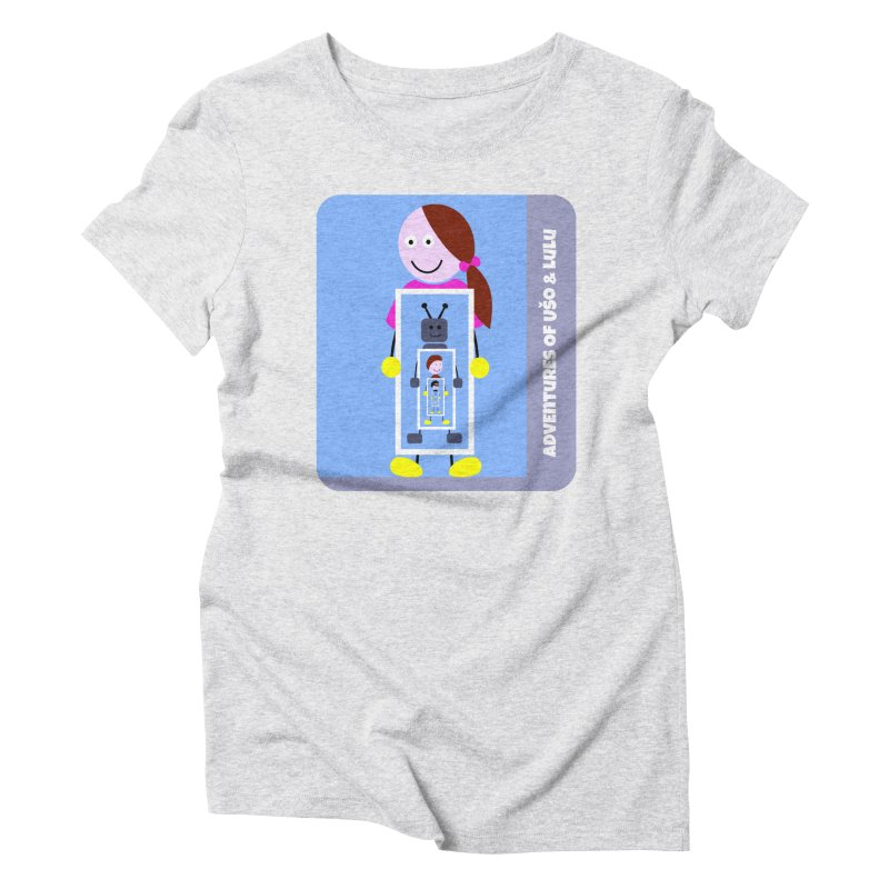 Recursion Women's Triblend T-Shirt by usomic's Artist Shop