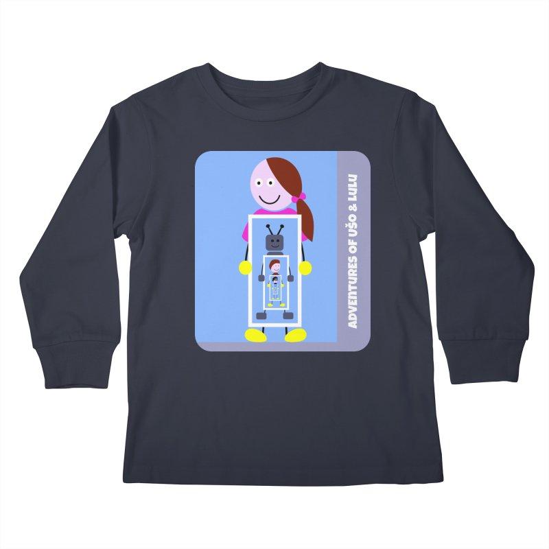Recursion Kids Longsleeve T-Shirt by usomic's Artist Shop