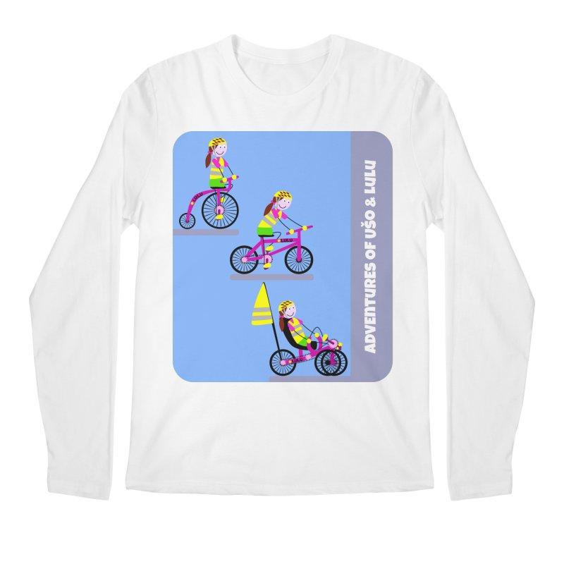 Velocipedolution - Zero polution Men's Regular Longsleeve T-Shirt by usomic's Artist Shop