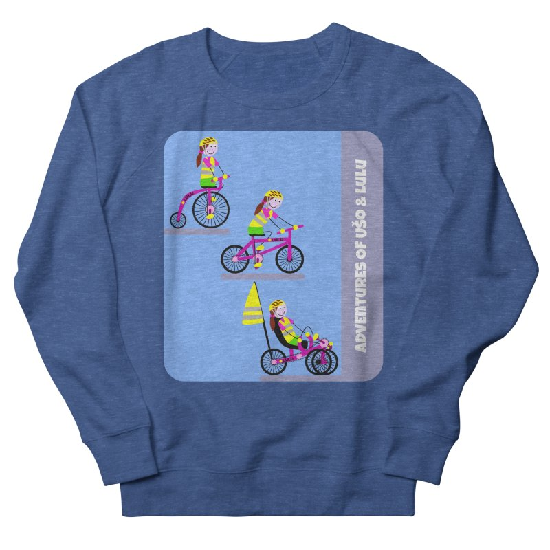 Velocipedolution - Zero polution Women's Sweatshirt by usomic's Artist Shop