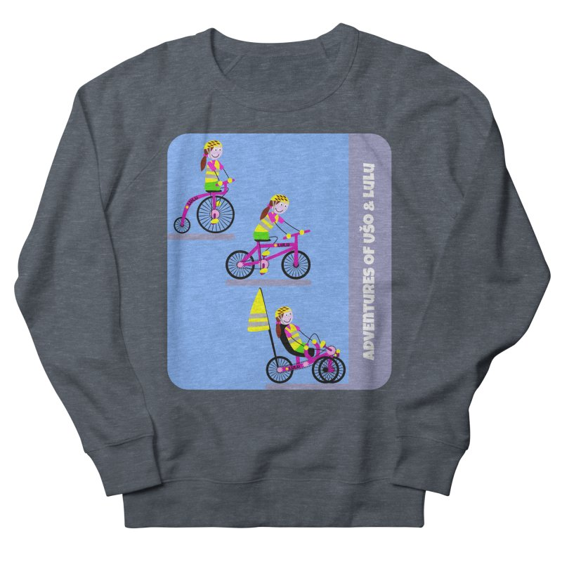 Velocipedolution - Zero polution Women's Sweatshirt by usomic's Artist Shop
