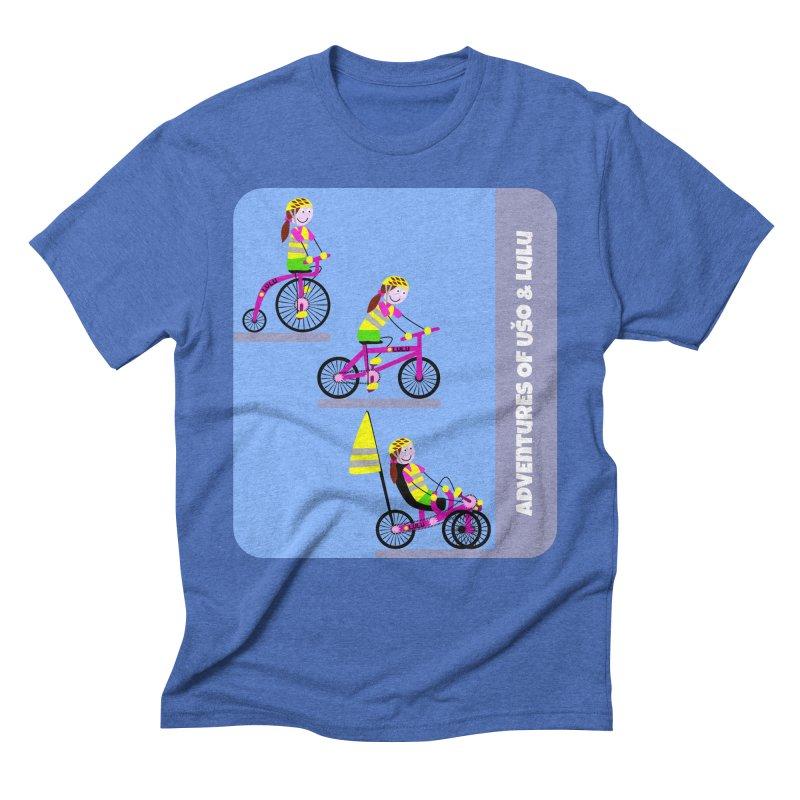 Velocipedolution - Zero polution Men's Triblend T-Shirt by usomic's Artist Shop