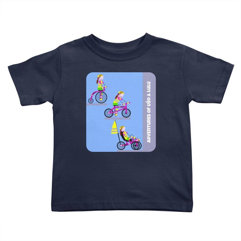 Velocipedolution - Zero polution Kids Toddler T-Shirt by usomic's Artist Shop