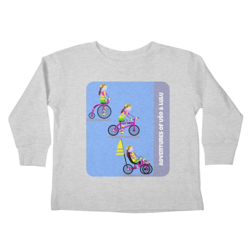 Velocipedolution - Zero polution Kids Toddler Longsleeve T-Shirt by usomic's Artist Shop