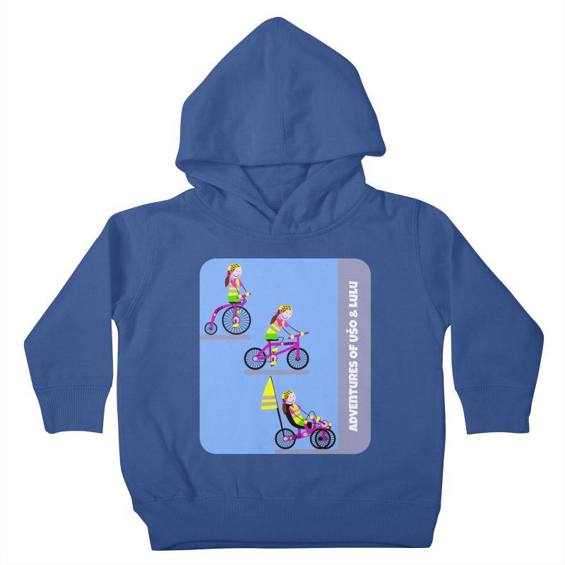 Velocipedolution - Zero polution Kids Toddler Pullover Hoody by usomic's Artist Shop