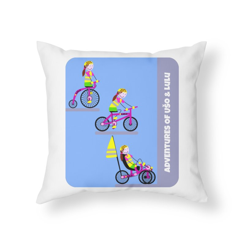 Velocipedolution - Zero polution Home Throw Pillow by usomic's Artist Shop