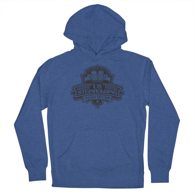 U.S. Steinholding Dark Logo Men's Pullover Hoody by U.S. Steinholding's Artist Shop