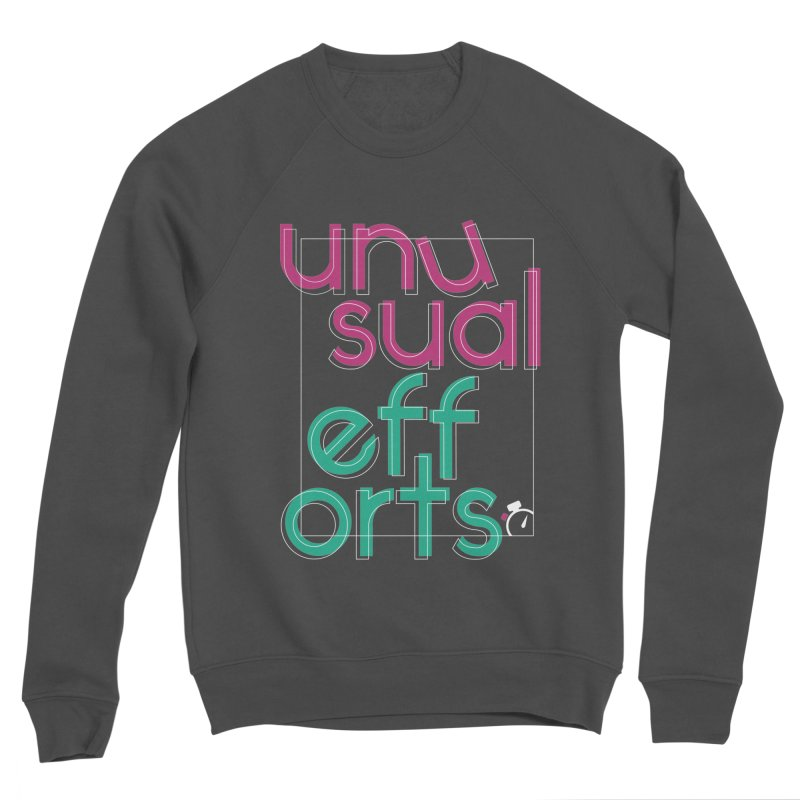 Unusually logo'd Women's Sponge Fleece Sweatshirt by Unusual Efforts Merchandise and Prints