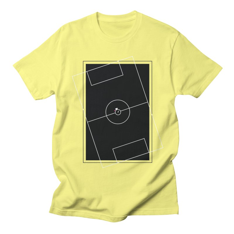 Pitch us! Men's Regular T-Shirt by Unusual Efforts Merchandise and Prints