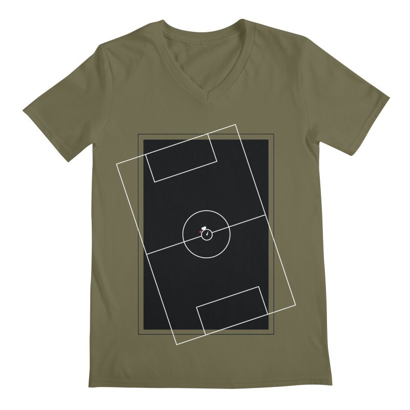 Pitch us! Men's Regular V-Neck by Unusual Efforts Merchandise and Prints