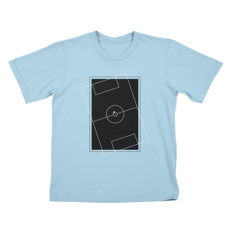 Pitch us! Kids T-Shirt by Unusual Efforts Merchandise and Prints