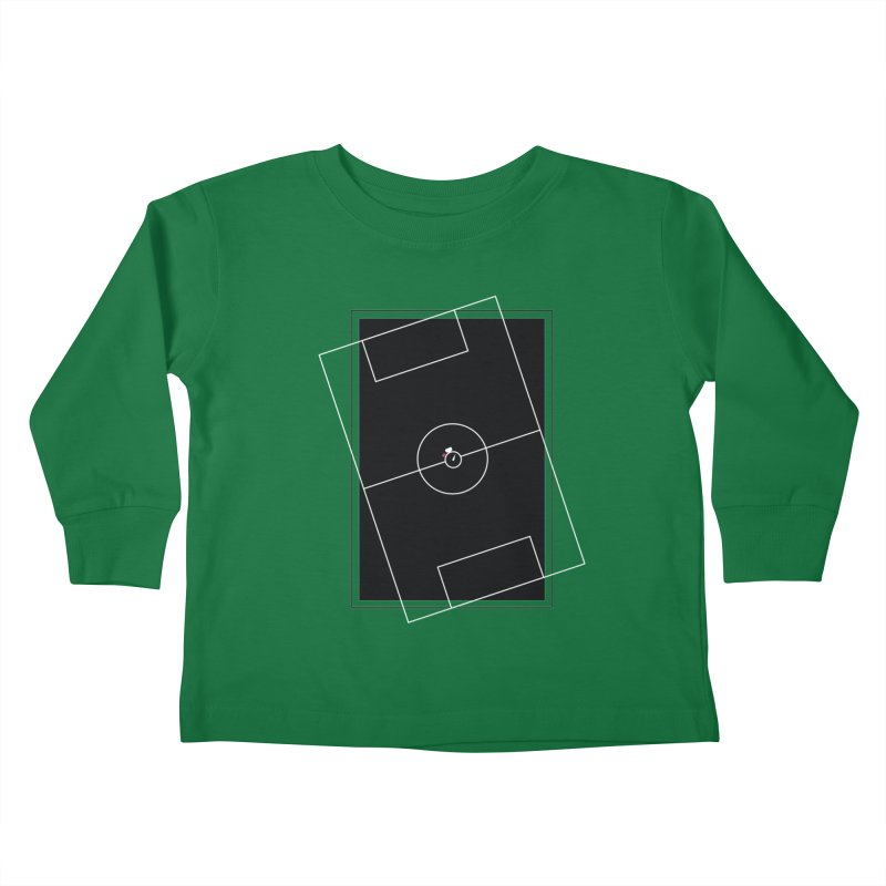 Pitch us! Kids Toddler Longsleeve T-Shirt by Unusual Efforts Merchandise and Prints