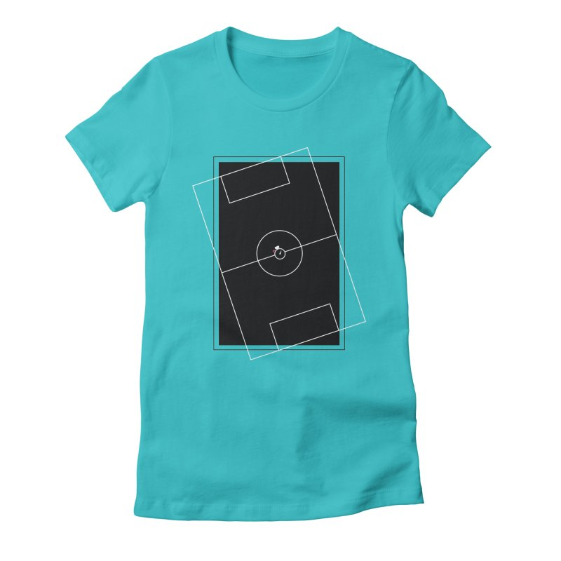 Pitch us! Women's Fitted T-Shirt by Unusual Efforts Merchandise and Prints