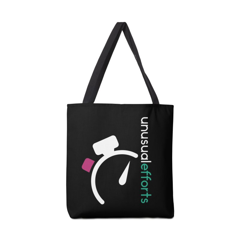 Time's up Accessories Tote Bag Bag by Unusual Efforts Merchandise and Prints