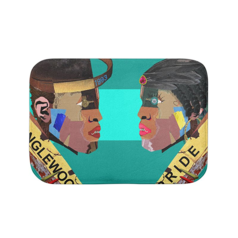 Englewood Pride Home Bath Mat by USUWE by Pugs Atomz