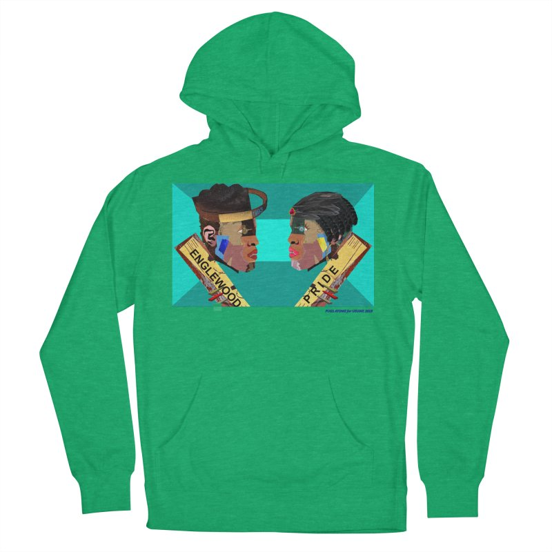 Englewood Pride Men's French Terry Pullover Hoody by USUWE by Pugs Atomz