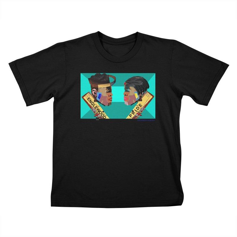 Englewood Pride Kids T-Shirt by USUWE by Pugs Atomz