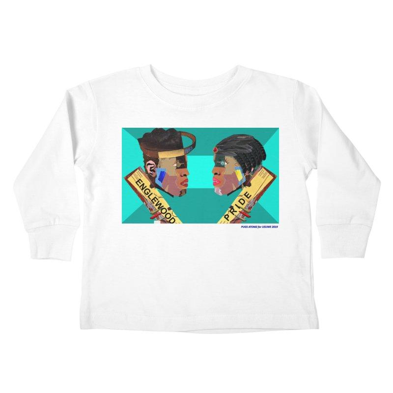 Englewood Pride Kids Toddler Longsleeve T-Shirt by USUWE by Pugs Atomz