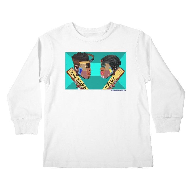Englewood Pride Kids Longsleeve T-Shirt by USUWE by Pugs Atomz