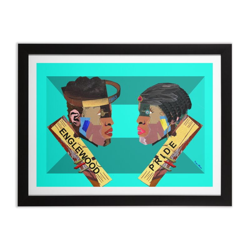 Englewood Pride Home Framed Fine Art Print by USUWE by Pugs Atomz
