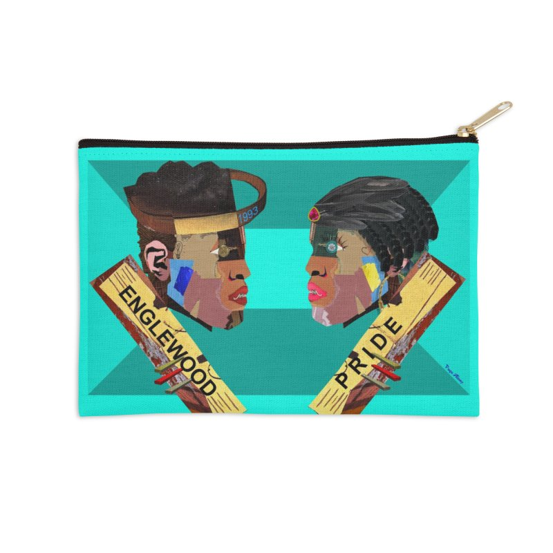 Englewood Pride Accessories Zip Pouch by USUWE by Pugs Atomz