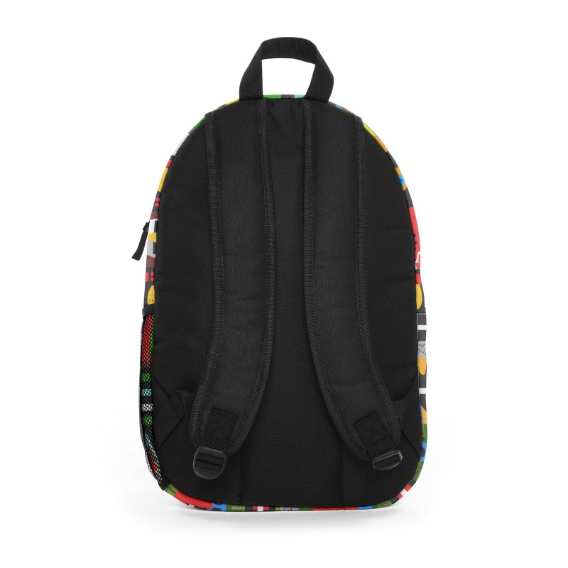 Afro Futuro Accessories Bag by USUWE by Pugs Atomz